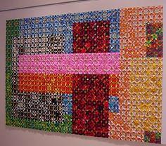 Community Origami project art