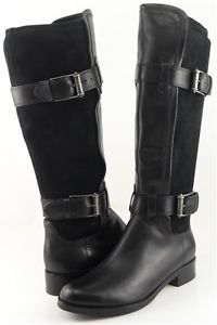 SF: this is what my dressier balck boots look like (COLE HAAN AIR WHITLEY BUCKLED)