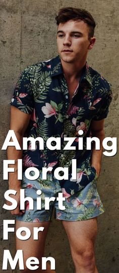 Amazing Floral Shirt For Men