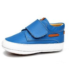 LiLi shoes for baby boys, nautical theme. boat shoes blue
