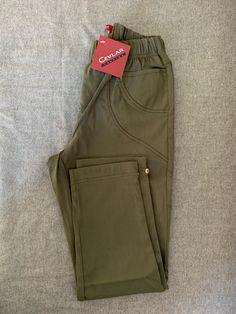 Spodnie z bengaliny Cevlar B08 kolor khaki - Big Sister