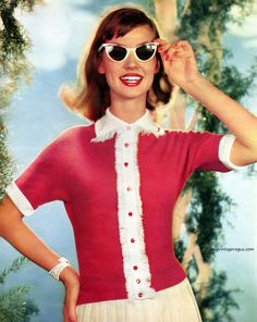 Dolores Hawkins - DuPont / Orlon 1956