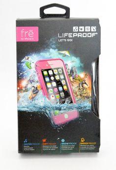 LifeProof iPhone 6 - Fre Series - Power Pink (Light Rose/ Dark Rose) GENUINE #LIFEPROOF