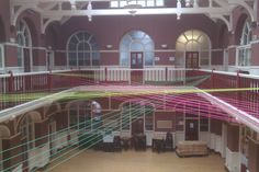 Installation by Kathleen Fabre in the Gallery Hall