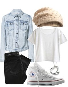 Winter look. Kind of hipster outfit