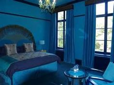 1000 Images About Monochromatic Color Harmony On Pinterest Monochromatic Room Royal Blue And