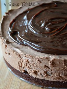 This cheesecake is so easy it's almost fool-proof, and it's so decadently dreamy that eating it outta be a sin. Thankfully for all of us, it's not! A thick and chewy brownie crust is topped with rich, creamy chocolate cheesecake studded with milk chocolate chips. No baking is required, and once it's set it's topped …