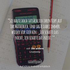 "Ich lese ""Die andere"" auf #Wattpad. https://www.wattpad.com/136884428?utm_source=ios&utm_medium=pinterest #fanfiction #quote"