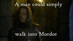 Lord of the Rings/Game of Thrones  Only you could do that, Jaquen. Love this guy