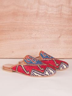 Our Turkish kilim rug loafers are one of a kind. Handmade with a wool upper, leather lining/interior and a inch raise. They are great for dressing up or dressing down. We get new styles every week. Turkish Kilim Rugs, Loafers, Wool, Kicks, Leather, Handmade, Dressing, Accessories, Interior
