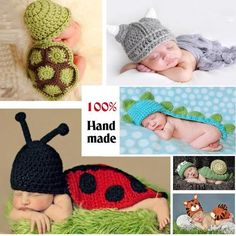 Soft Newborn Baby Photography Props Baby Hat Baby Cap Baby Girl Boy. Newborn  Boy ClothesBaby Outfits NewbornChildrens Crochet ... 459410c7273e