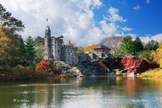 New York City Central Park Belvedere Castle