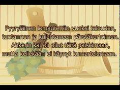 Siwa, hima, sohva ja sauna (karaoke)