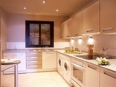 lighting for small kitchens can you spot the washer and dryer - Kitchen Lighting Ideas Small Kitchen