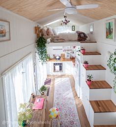 Tiny MissDolly On Wheels A place of inspiration in tiny house living Tiny House Design House inspiration living MissDolly place Tiny Wheels Tiny House Plans, Tiny House On Wheels, Building A Tiny House, Tiny House Living, Tiny House 2 Bedroom, Tiny House Closet, Small House Living, Living Place, Bedroom Small