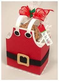 Resultado de imagen para dulceros en bolsa de duendes navideños de fomi
