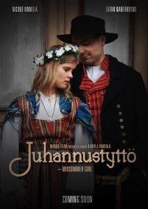 South Ostrobothnia province of Western Finland National costumes in the movie Midsummer Girl. - Etelä-Pohjanmaan kansallispukuja elokuvassa Juhannustyttö. - Nurmo-Filmi.
