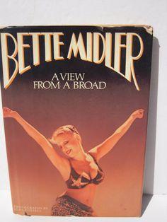 Bette Midler Book  Vintage Bette Midler  Hollywood by BeckVintage, $10.00