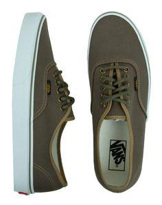Vans Authentic Shoes - (Surplus) Butternut/Olive Night