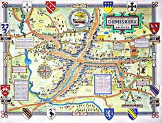 OLD ORMSKIRK TOWN MAP