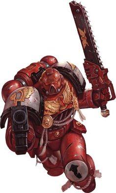 Blood Angel Marine.