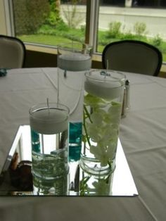 Centerpieces for Emily