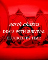 Earth chakra - and then you unblock it by creating a new form of bending.