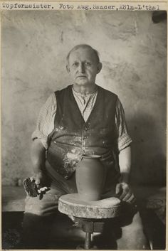 Potter, Frechen (Töpfermeister, Frechen), August Sander, Germany, about 1932