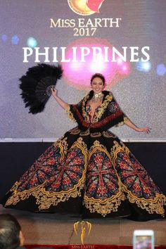 Congratulations Miss Philippines Earth 2017 Miss Philippines, Philippines Culture, Filipino Fashion, Asian Fashion, Modern Filipiniana Gown, Miss Pageant, Traditional Gowns, Royal Dresses, Pageant Dresses