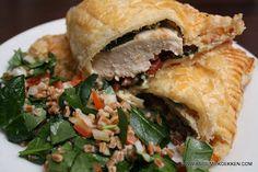 Kaos i mit køkken: Forkælet kylling i butterdej