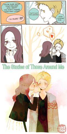 So Sweet ♥ Ep. 48 is uploaded on LINE Webtoon ! The Stories of Those Around Me _by Omyo L click to read this webtoon :) iriyo em-webtoons anicegirl8d