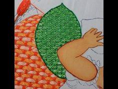 Bordado Fantasía Vestido Niña Fruta fresa en bota de Santa Claus - YouTube