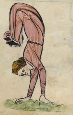 "Detail from ""The Rutland Psalter"", medieval (c1260), British Library Add MS 62925. f 65r"