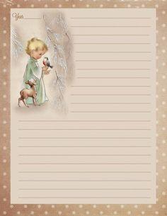 After Christmas, Christmas Love, Vintage Christmas, Christmas Letters, Christmas 2019, Christmas Journal, Christmas Scrapbook, Printable Lined Paper, Printable Labels