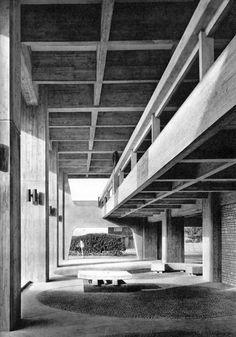 Oita Prefectural Office, Japan, 1963 (Kyushu Regional Bureau Ministry of Construction)