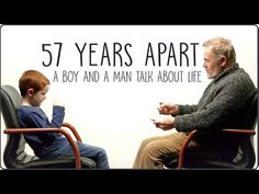 57 Years Apart - Heartwarming Chat between an Irish Boy and a Man