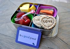 @Lunchbox Love from Say Please notes with bento lunch and a #giveaway from Bentoriffic.