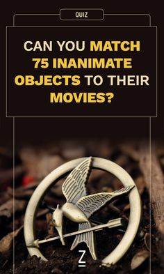 Can You Match 75 Inanimate Objects to Their Movies?