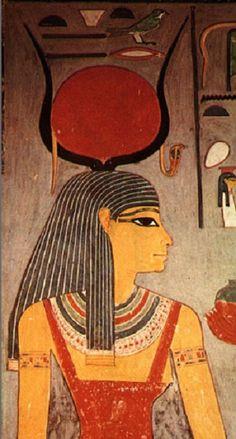 Isis - wife of Osiris, mother of Horus