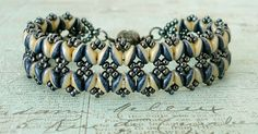 Bracelet of the Day: Bandwidth Bracelet - Navy & Ivory