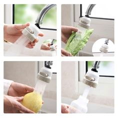 1Pc Push Type Food Grade Plastic Replacement Water Dispenser Tap Faucet FB