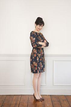 189d442fd03 Sew Over It Zoe Dress sewing pattern    The Zoe Dress is a semi-