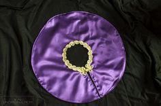 DIY Greatest Showman Costumes: Anne Wheeler - unOriginal Mom Purple Ribbon, Purple Satin, Got Costumes, Halloween Costumes, Lining Fabric, Satin Fabric, Meal Planning Binder, Purple Leotard, Nude Tights