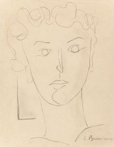 Constantin Brancusi, Untitled (Portrait of Maria Tanase), circa Heritage Auctions: Modern & Contemporary Art Modern Art, Contemporary Art, Constantin Brancusi, Face Art, Art Faces, Sculptures, Auction, Portraits, Graphic Design