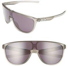 57730d8a03 Oakley Men's Trillbe 140Mm Shield Sunglasses - Grey Oakley, Tennisskjorter
