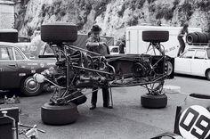 f1 Tyrrell 002 - 1971 Monaco Grand Prix.