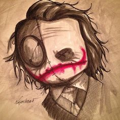 Instagram photo by @fabionapoleoni (Fabio Napoleoni) | Iconosquare Voodoo, Cartoon Drawings, Art Drawings, Creepy Sketches, Joker Kunst, Teddy Bear Tattoos, Pomes, Joker Art, Art Folder