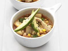 White Chicken Chili Stew Recipe : Food Network Kitchens : Food Network - FoodNetwork.com