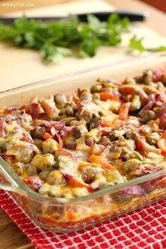 Sausage Fajita Breakfast Casserole | What a delicious breakfast casserole!