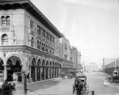 It's hard to find a photograph of Venice Beach that's earlier than this one. Venice, California, was founded by tobacco millionaire Abbot Kinney in 1905 as a beach resort town designed to give Angelenos desperate to escape the crowding of downtown L.A. This photo was taken the following year, in 1906, showing us a glimpse of how appealing the area must have been to the locals. With its fresh sea air, wide boulevards, Venetian architecture, and sedate canals, it must have seemed like…